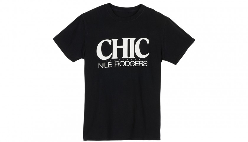 3 Staff T-Shirts from Chic's 2016 and 2017 Tours