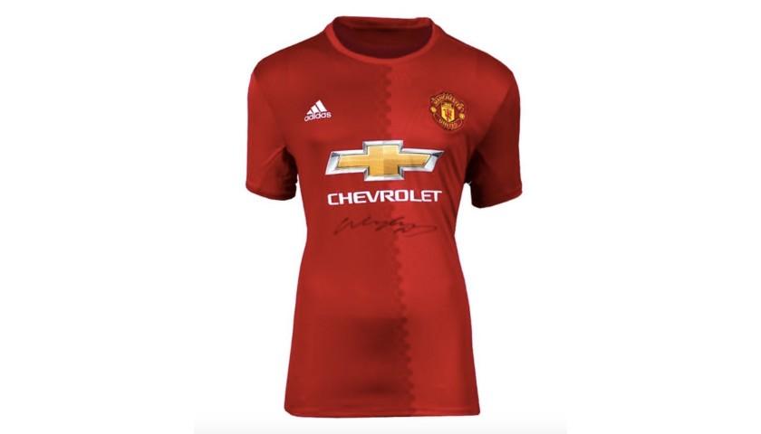 Wayne Rooney Signed Manchester United Shirt 2016-17