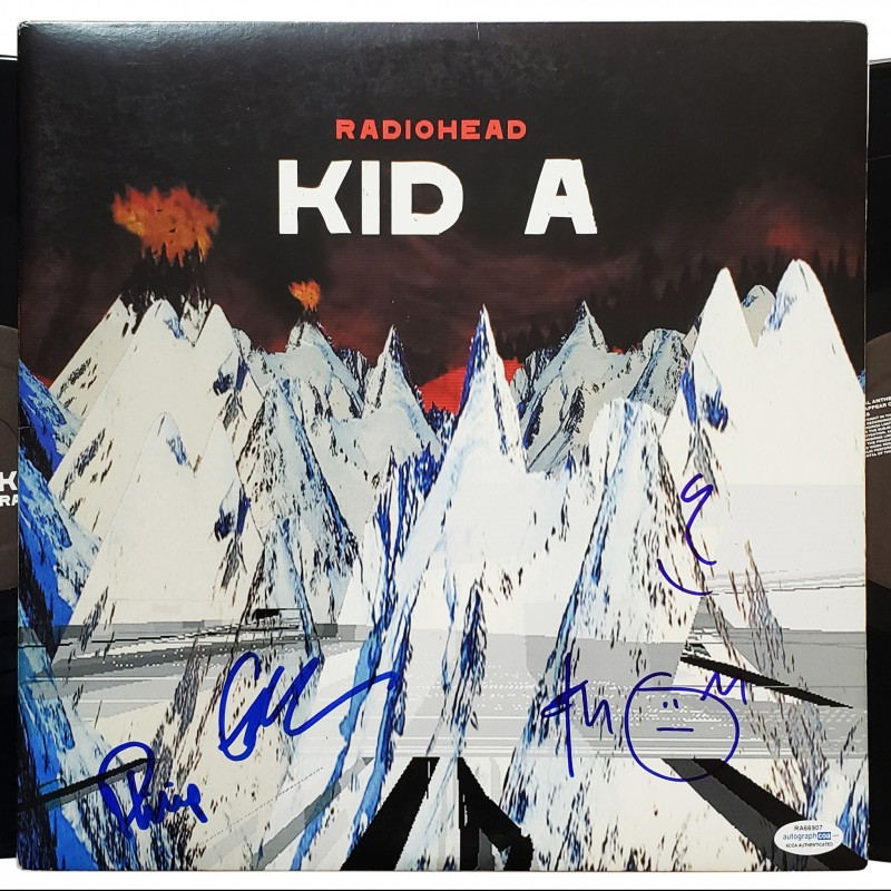 Radiohead Hand Signed Record Album